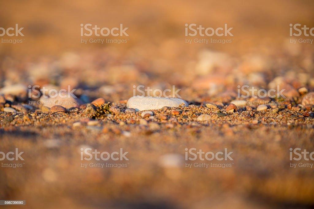 The series of stones stock photo