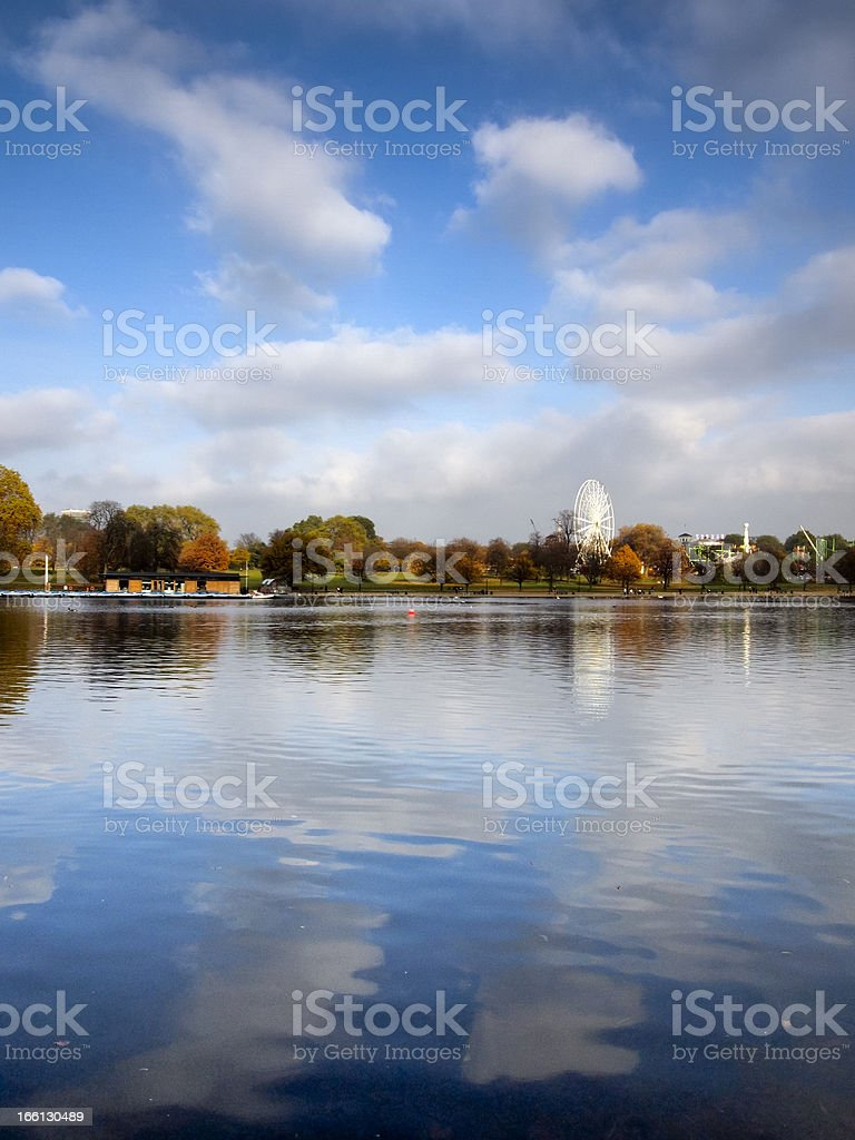 The Serpentine royalty-free stock photo