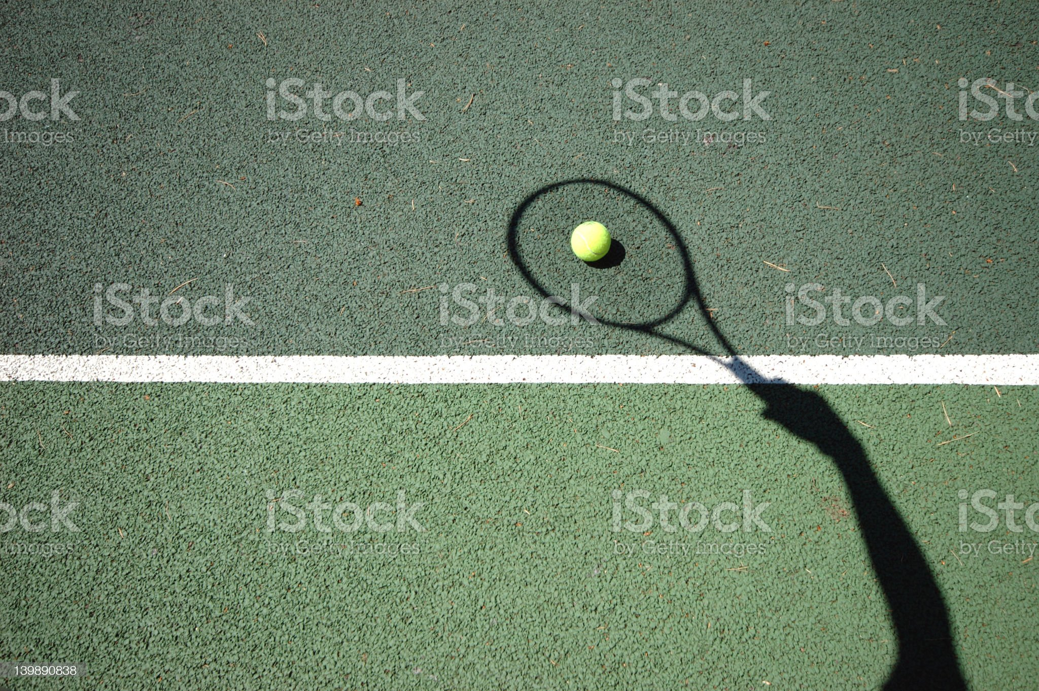 The Serve royalty-free stock photo