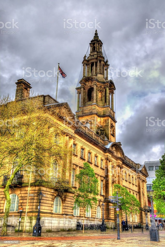 The Sessions House, a courthouse in Preston, Lancashire, England stock photo