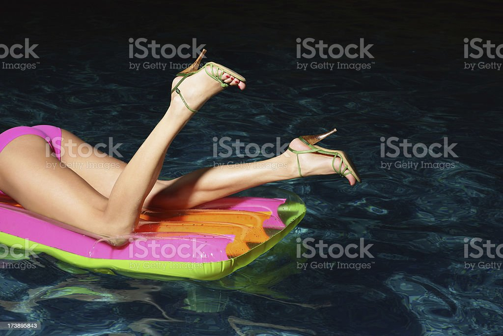 The sexy  young  woman royalty-free stock photo