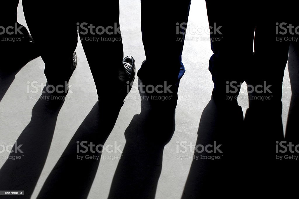 The Shadows stock photo
