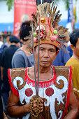 The shaman of kalimantan.