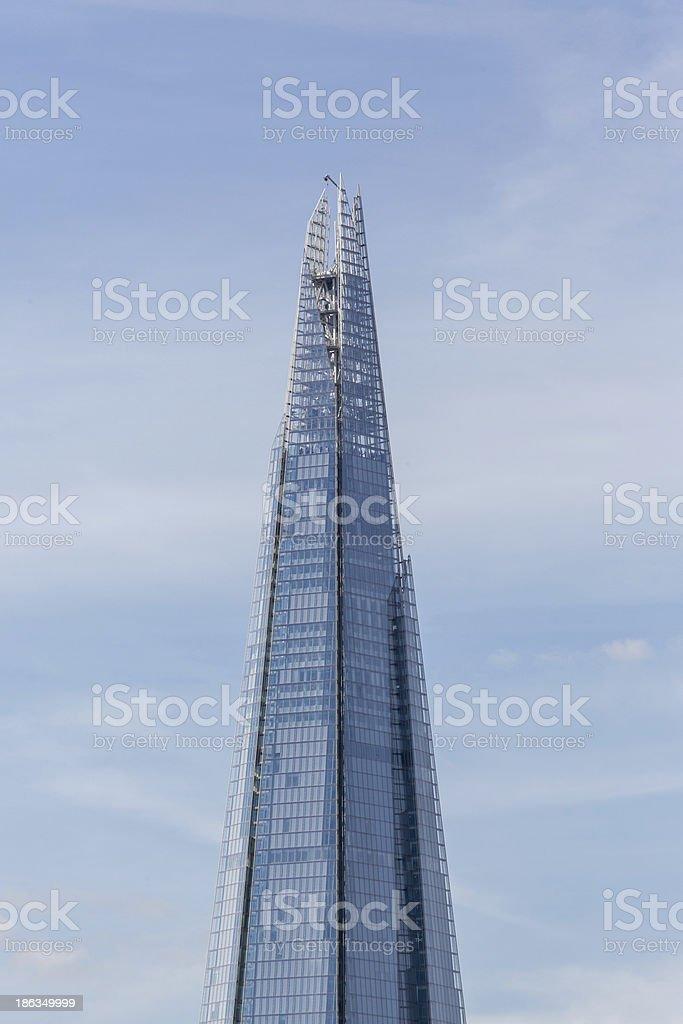 The Shard - London royalty-free stock photo