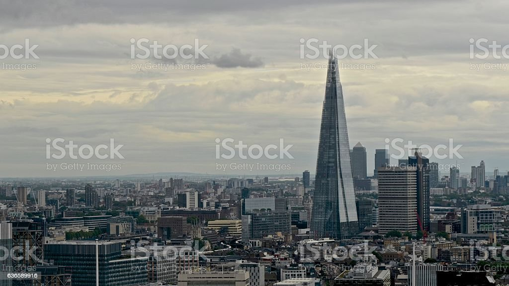 The Shard, London, UK stock photo