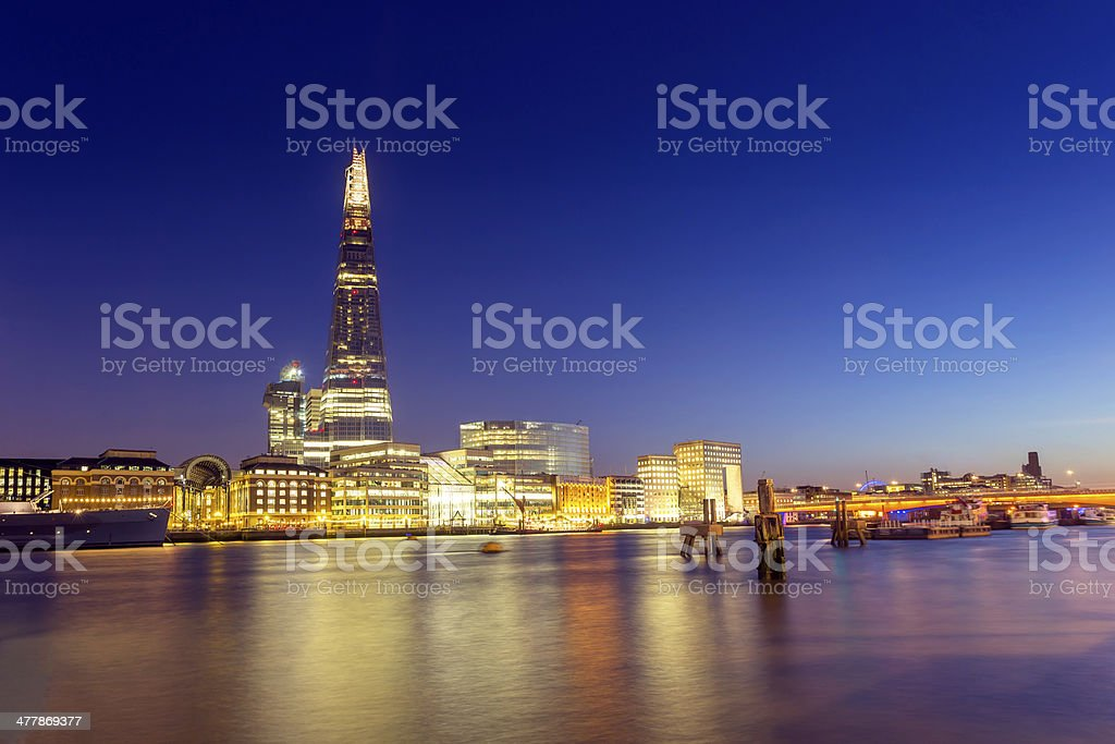 The Shard royalty-free stock photo