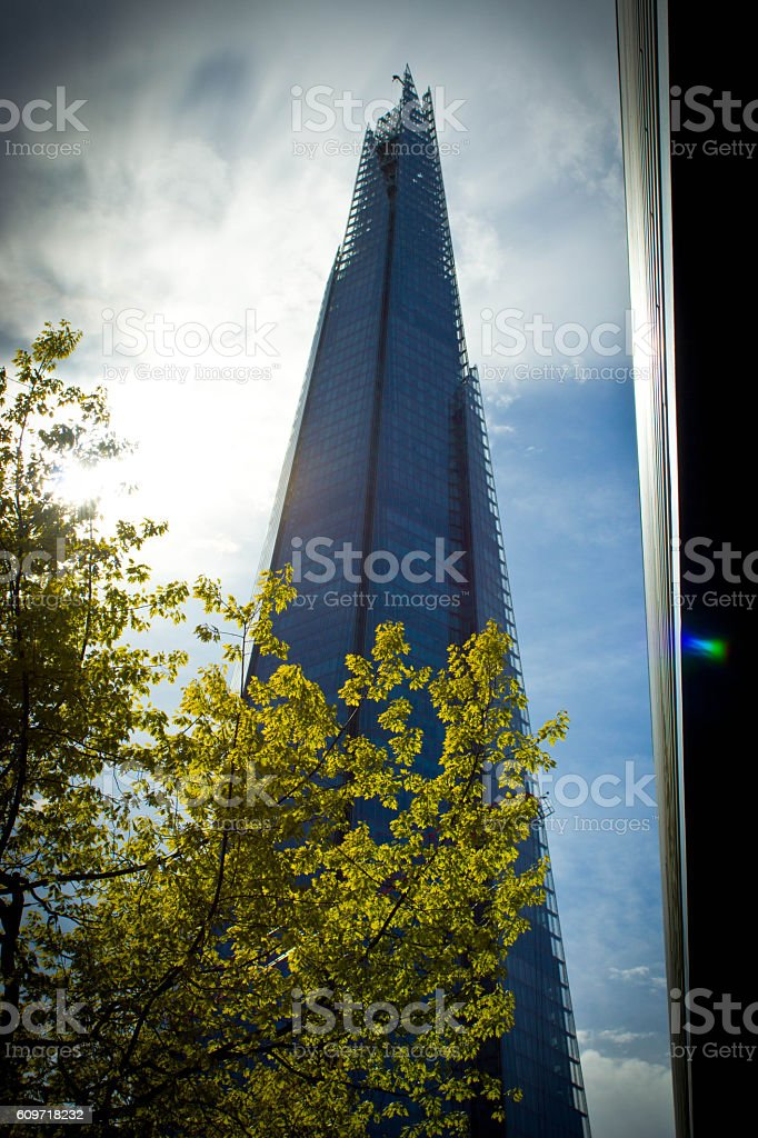 The Shard stock photo