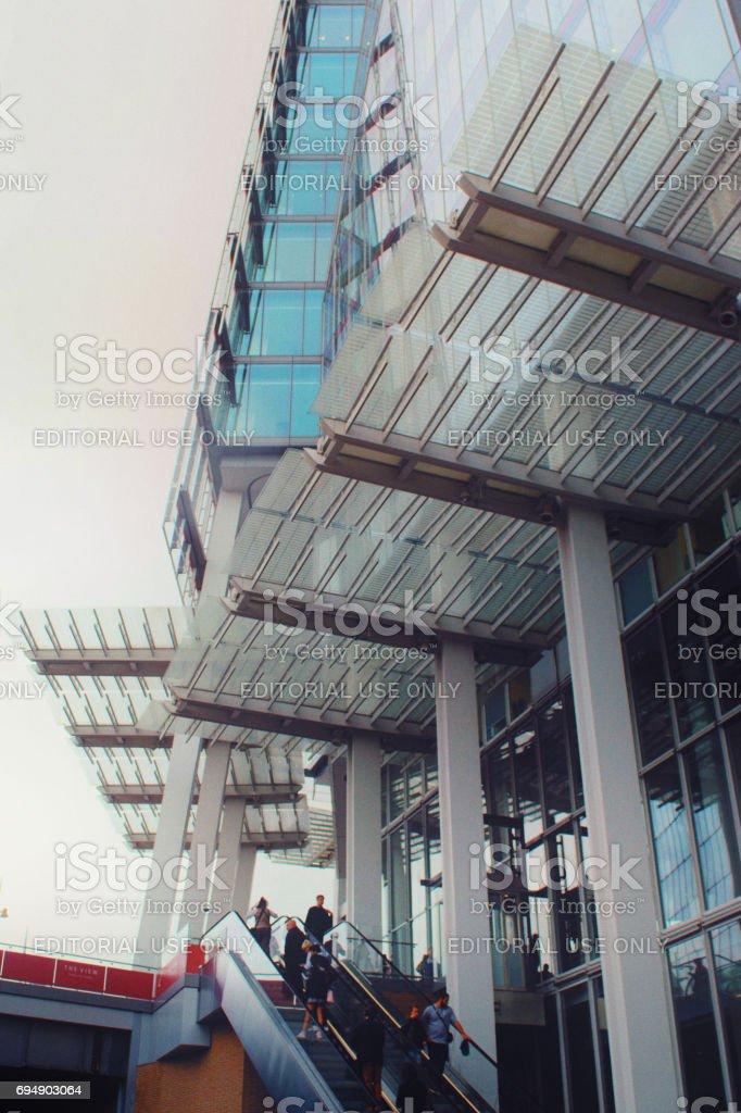 The Shard stock photo