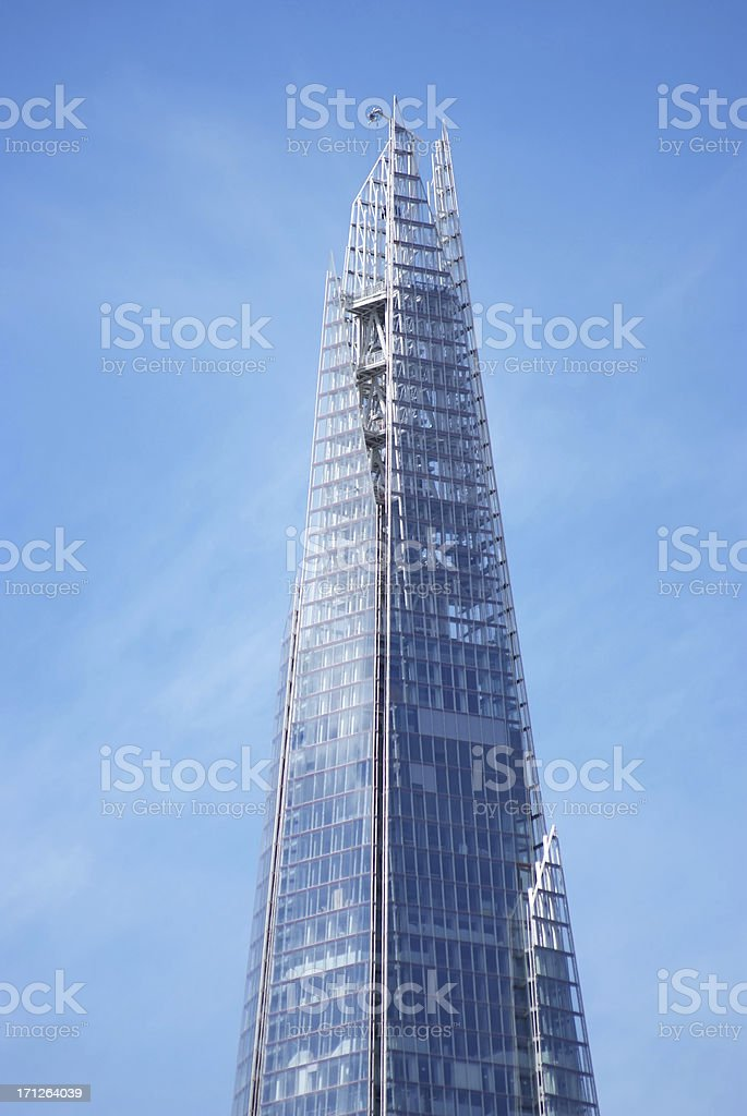 The Shard skyscraper stock photo