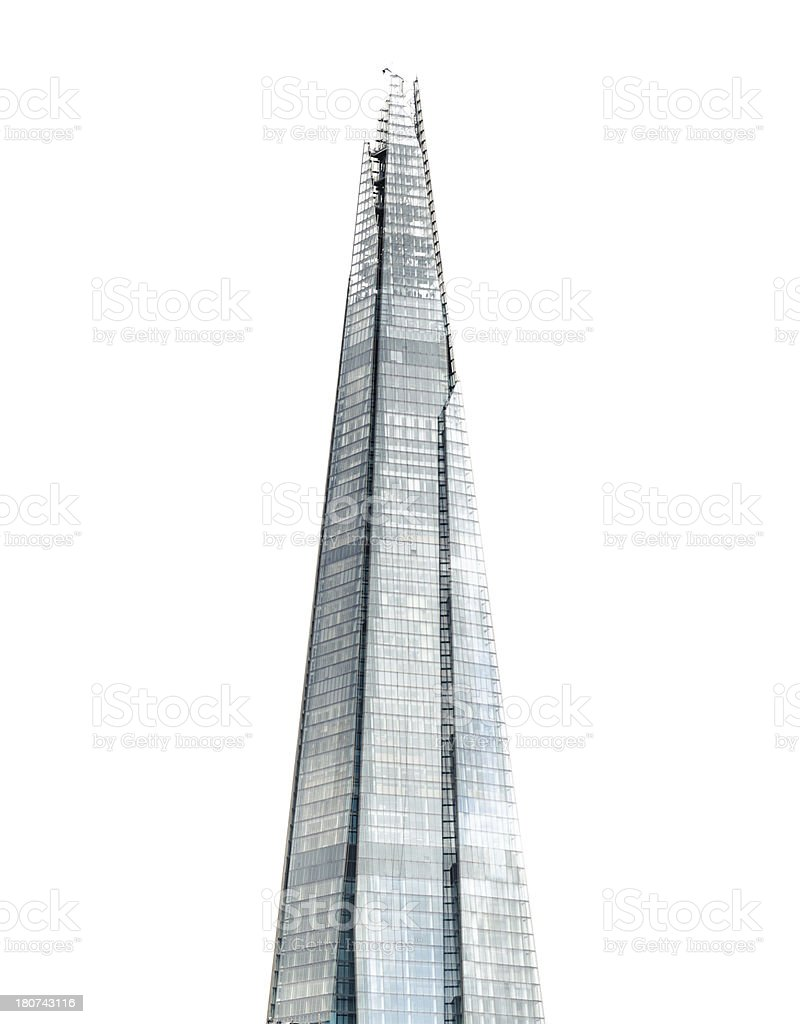 The shard tower stock photo