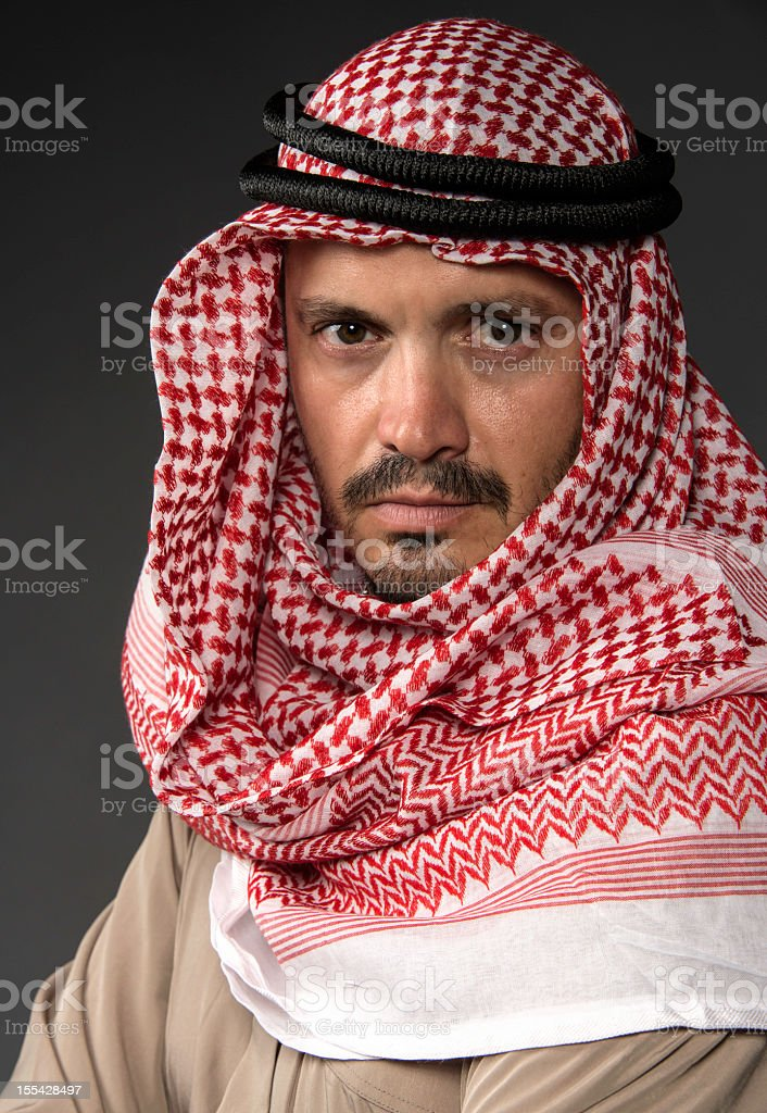 The Sheik stock photo