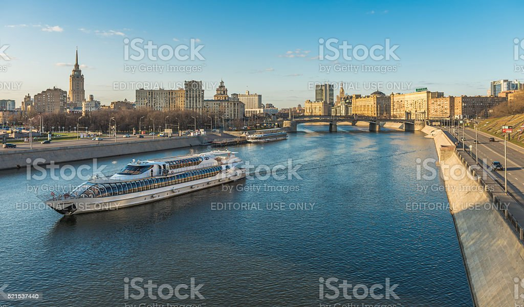 The Ship 'Radisson Cruises'. stock photo