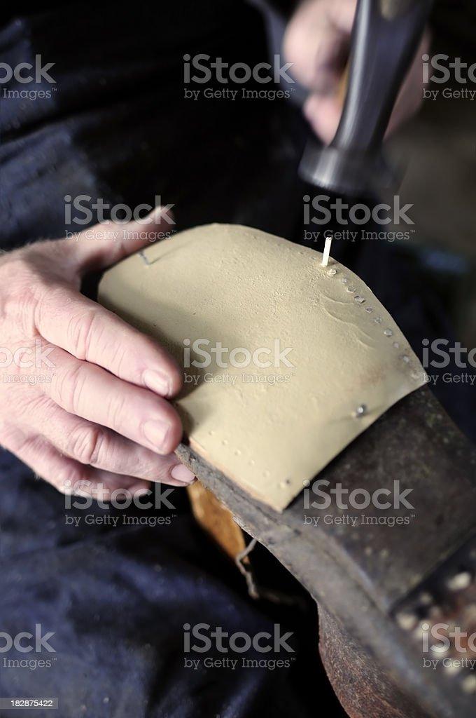 The Shoemaker. royalty-free stock photo