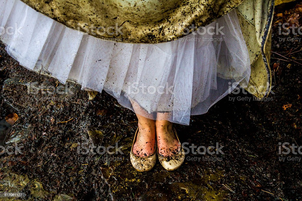 The Shoes Of Ophelia stock photo