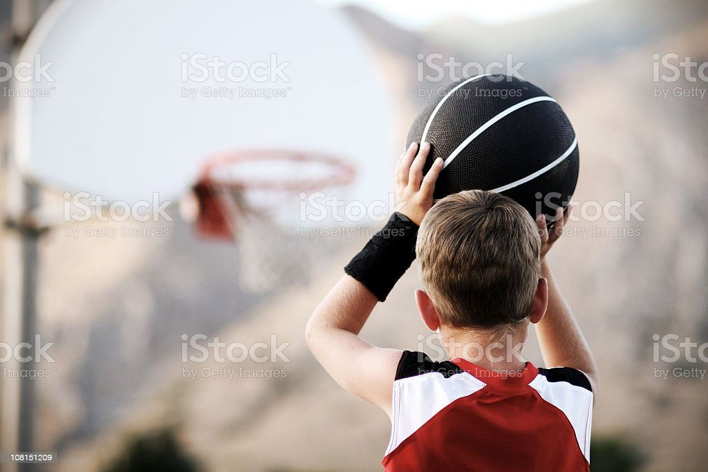 The Shot Horizontal stock photo