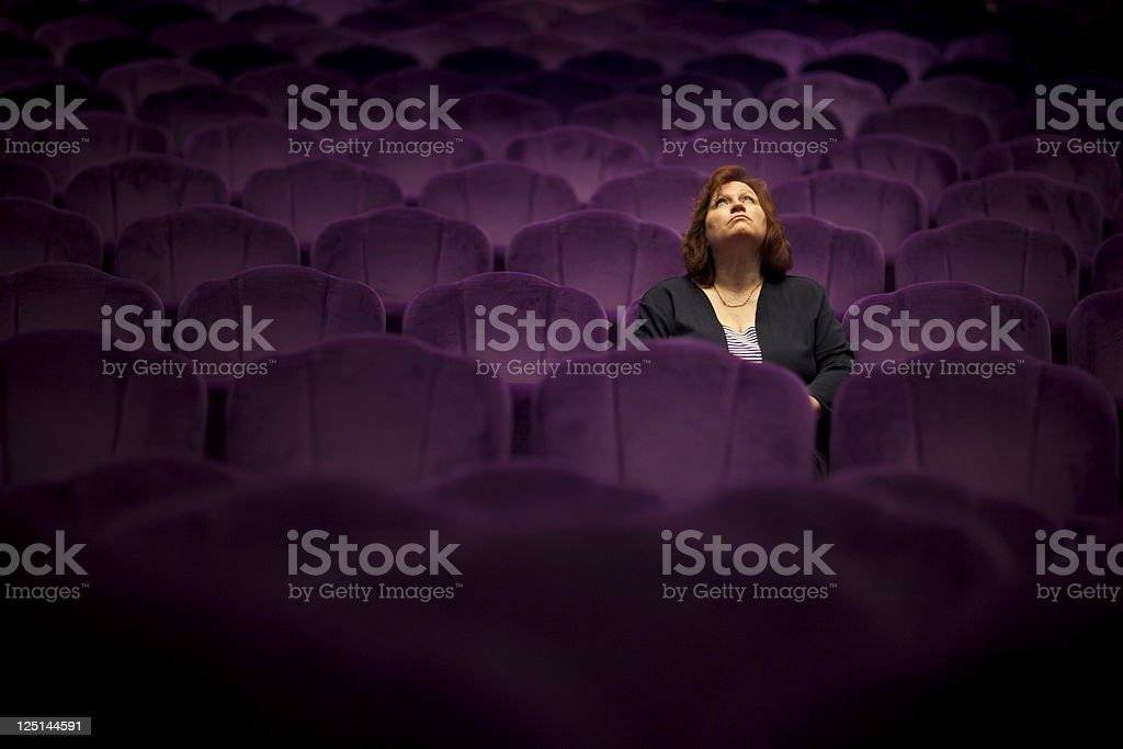 The Show Must Go On stock photo