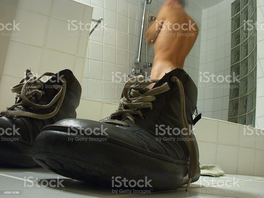 The shower royalty-free stock photo