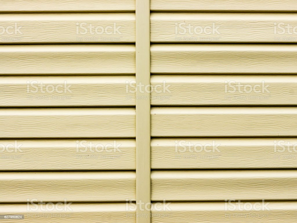 The siding background. stock photo