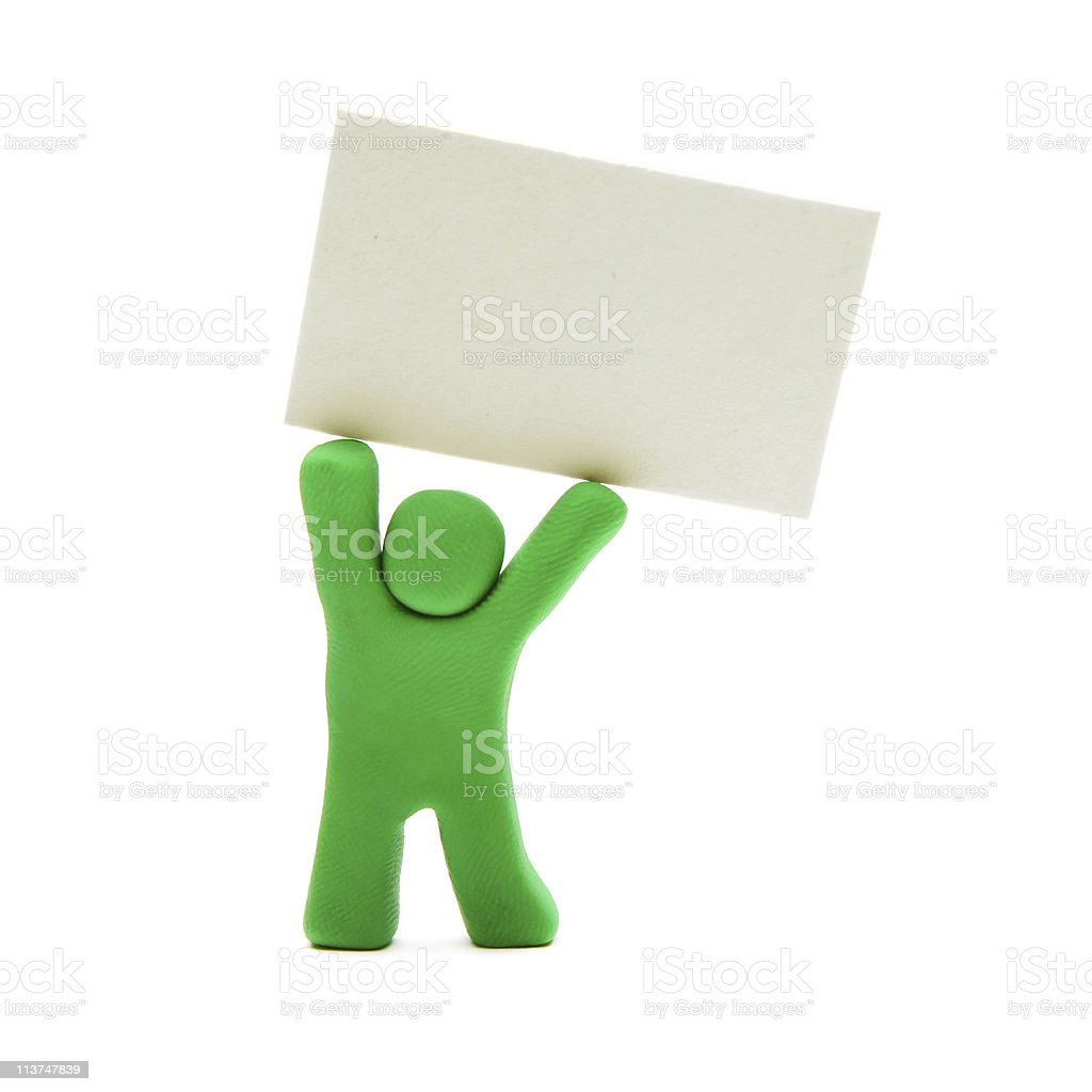 the sign royalty-free stock photo