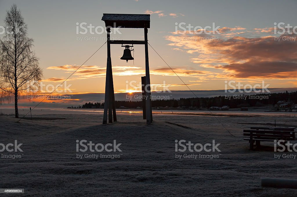 The silent bell royalty-free stock photo