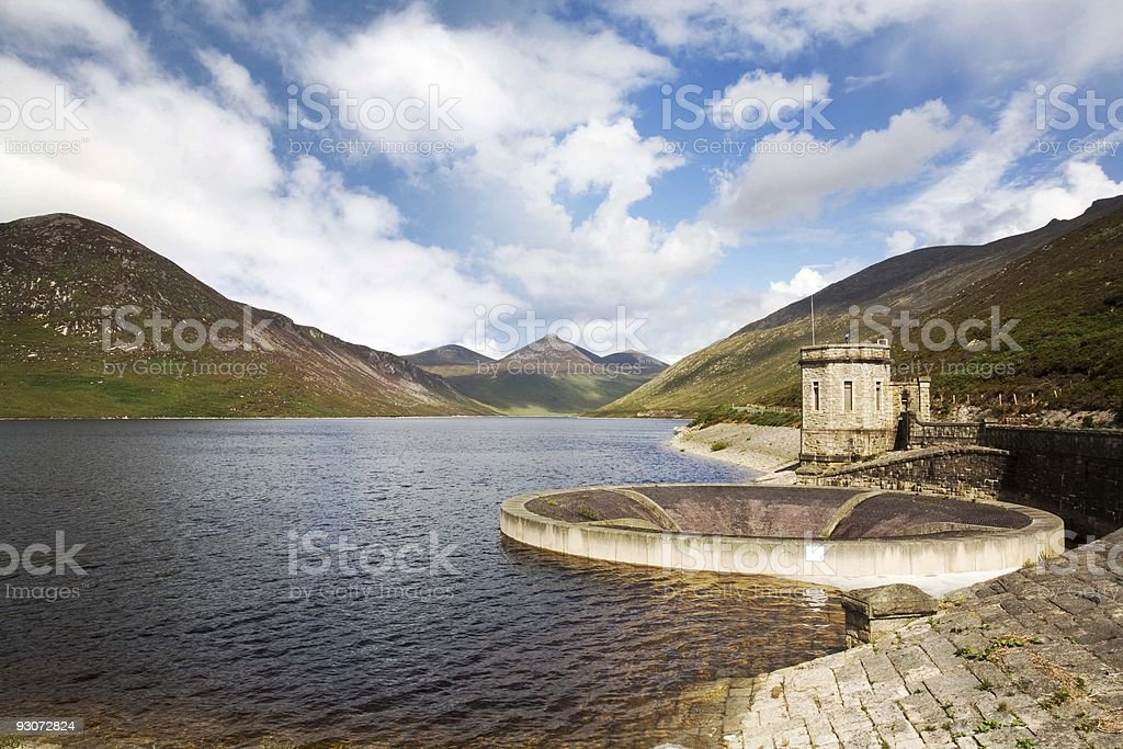 The Silent Valley royalty-free stock photo