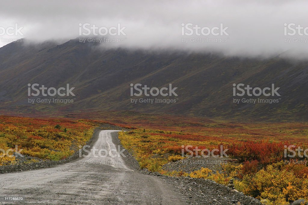 The Silver Road royalty-free stock photo