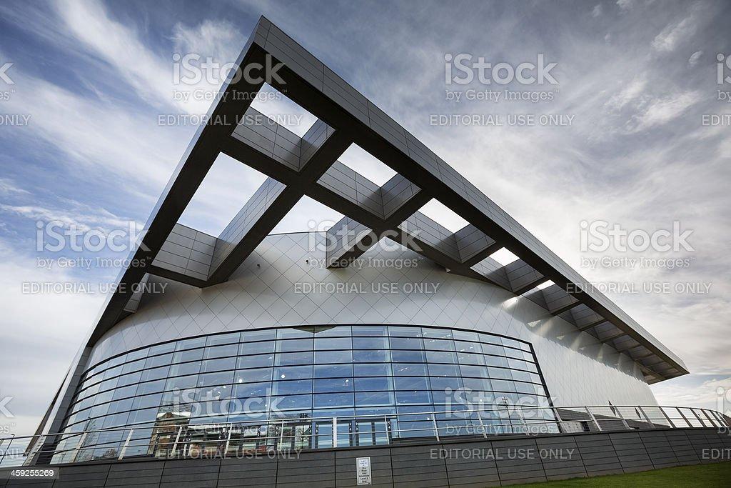 The Sir Chris Hoy Velodrome, Glasgow stock photo