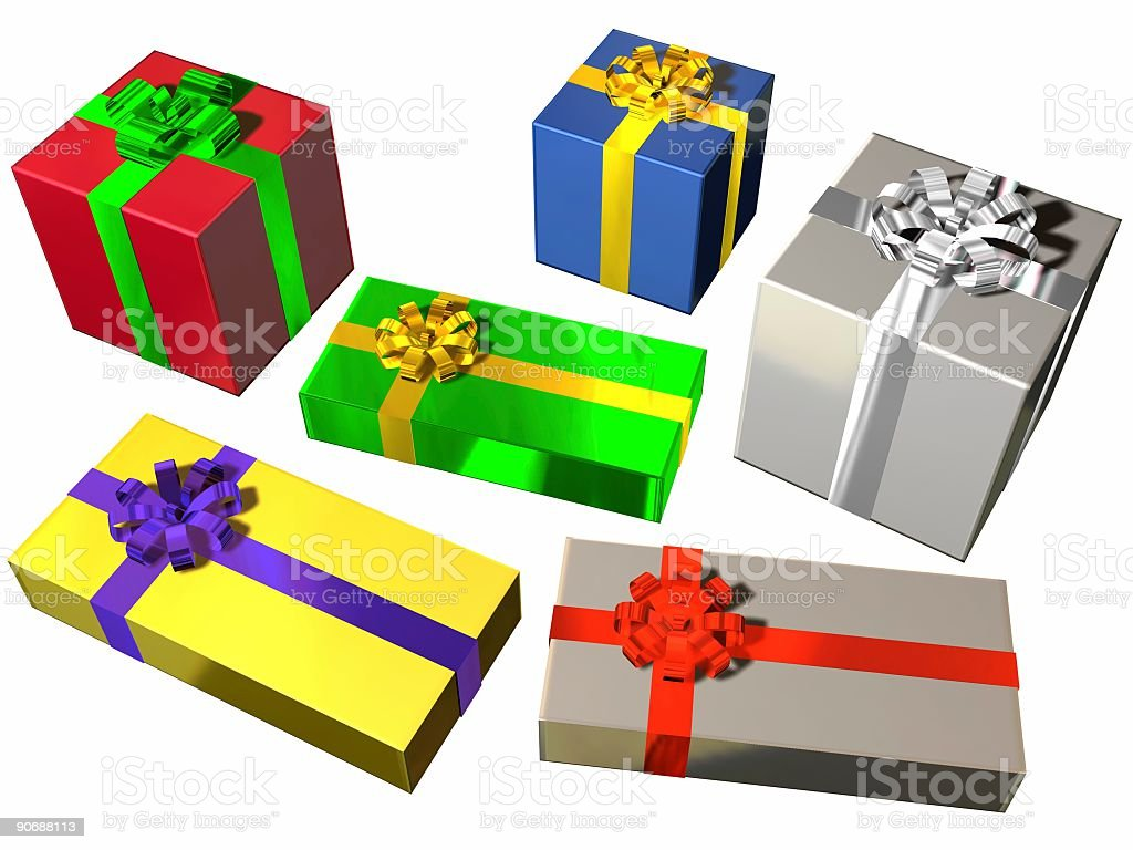 The Six Presents royalty-free stock photo