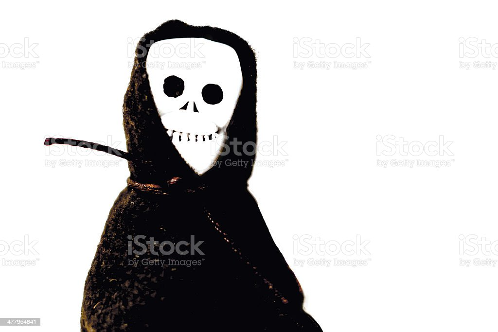 The Skeleton Ghost royalty-free stock photo