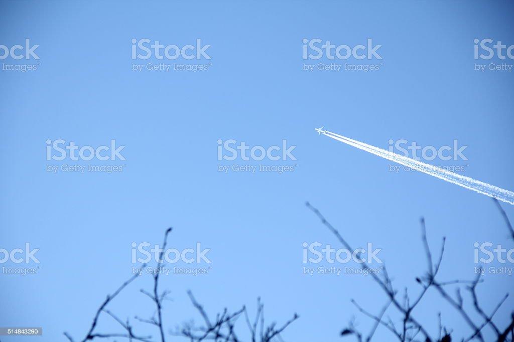 The sky. stock photo