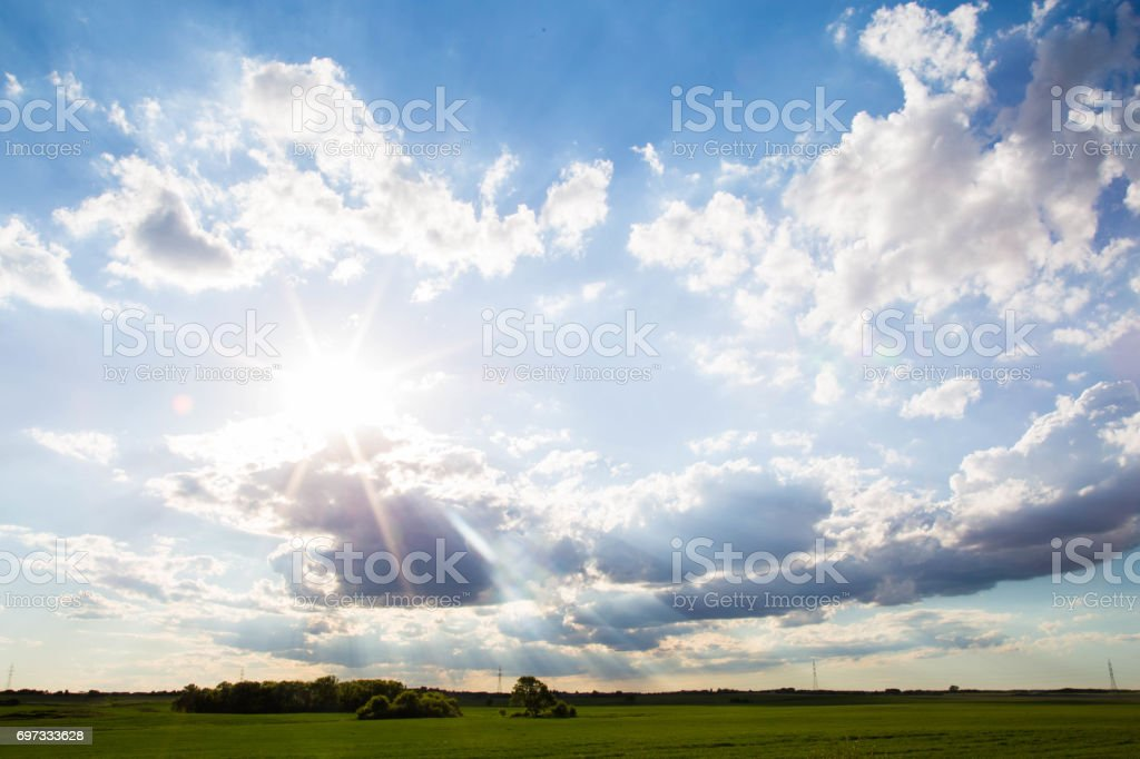 The Sky's the Limit stock photo