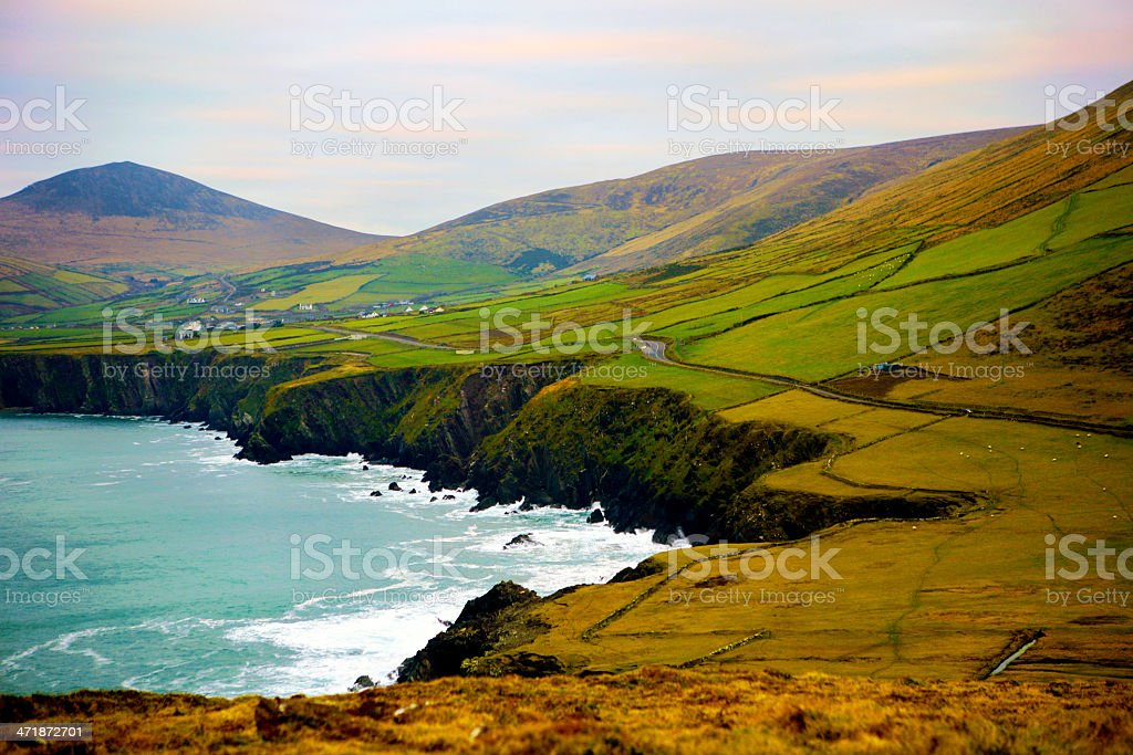 The Slea Head Drive - Ireland stock photo