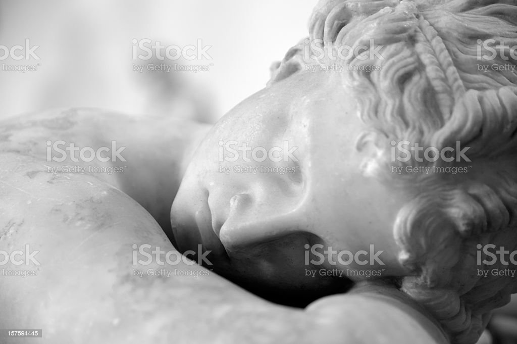 The Sleeping Hermaphrodite stock photo