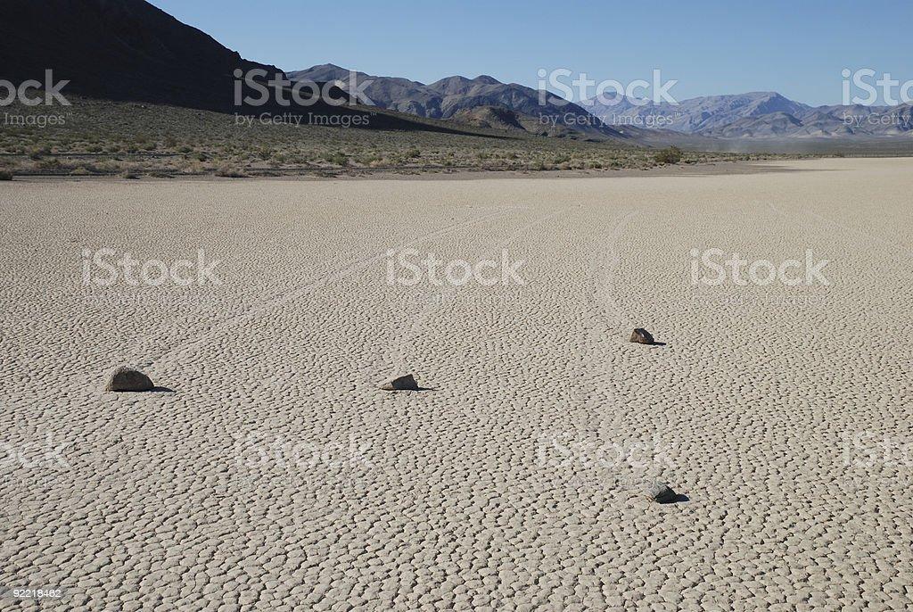The Sliding Rocks royalty-free stock photo