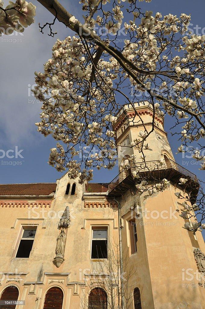 The Slivnica Castle, Slovenia royalty-free stock photo