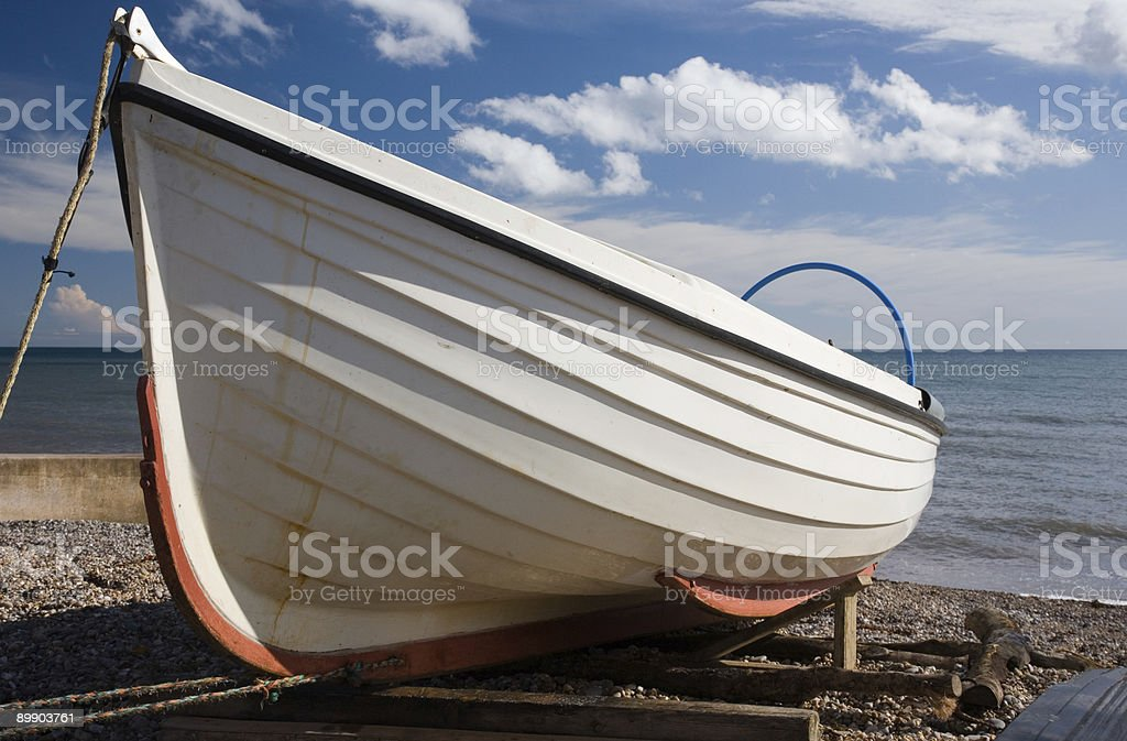 The Small Fishing Boat stock photo