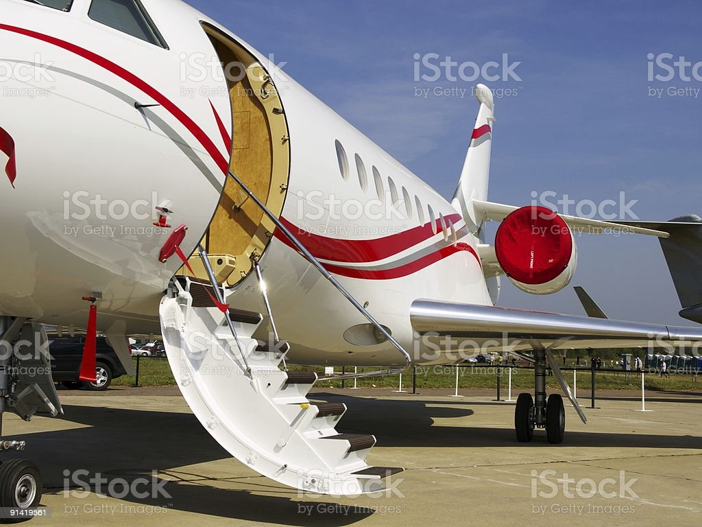 The small plane for business stock photo