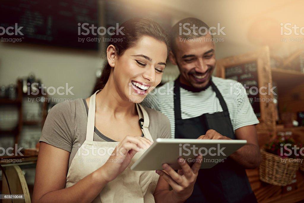 The smartest entrepreneurs use the smartest technologies stock photo