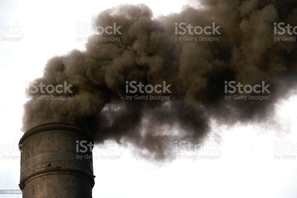 The Smoking Chimney stock photo