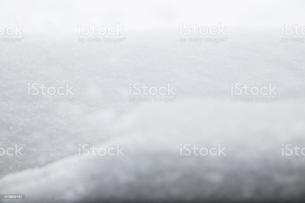 The Snow window - Winter background royalty-free stock photo