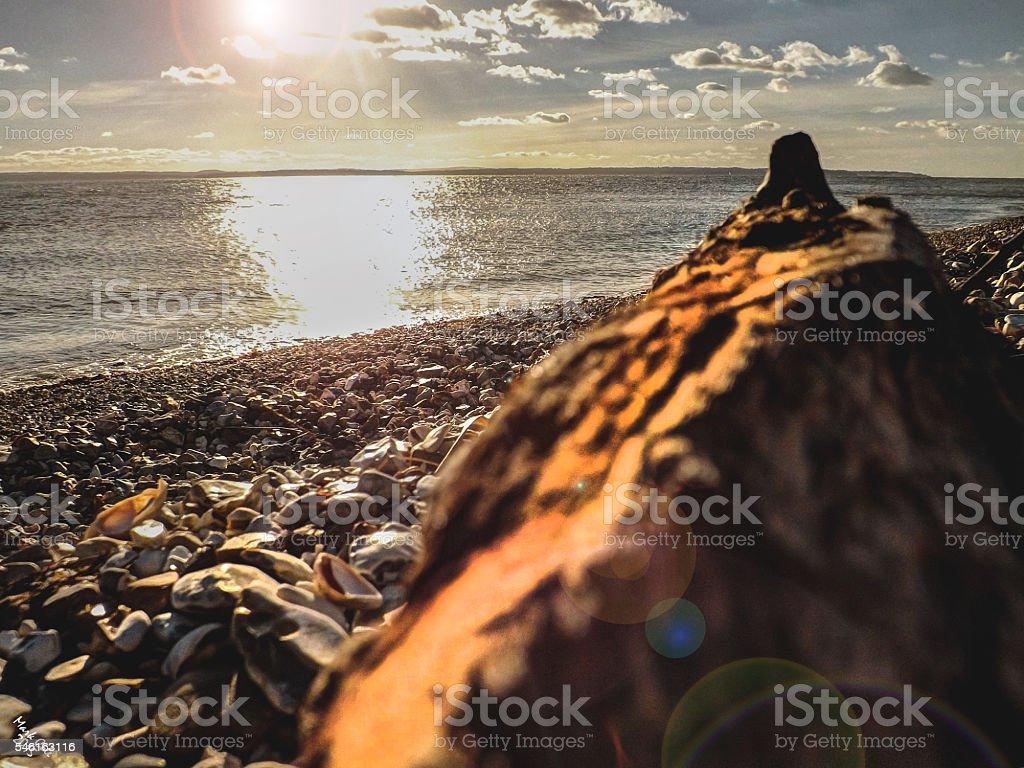 The Solent stock photo