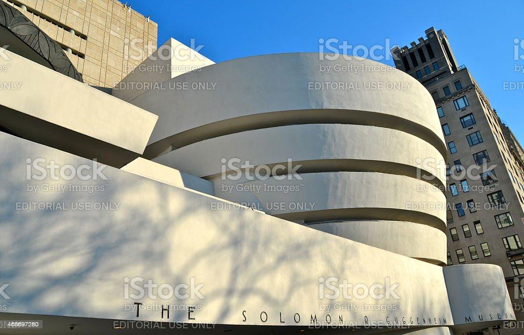The Solomon R. Guggenheim Museum, Manhattan, New York City, USA stock photo