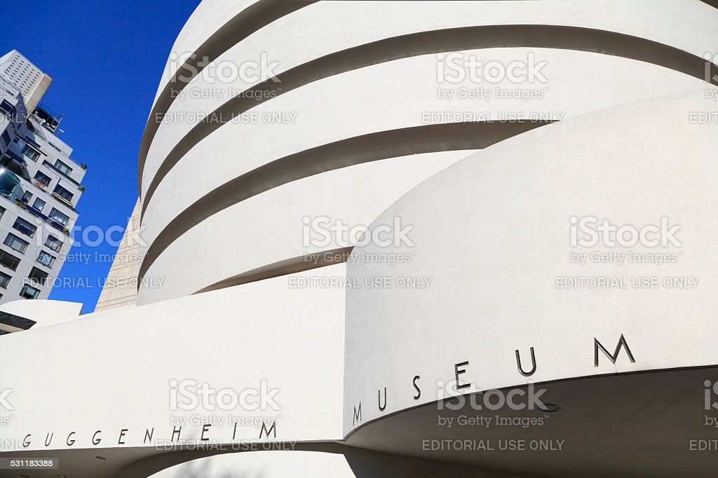 The Solomon R. Guggenheim Museum stock photo