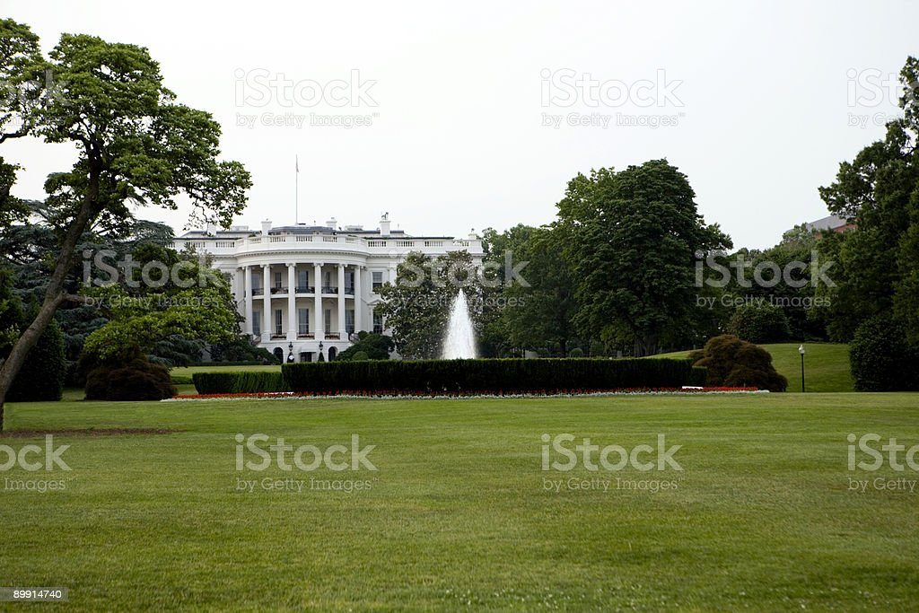The South Lawn royalty-free stock photo