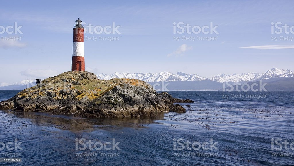 The Southernmost lighthouse stock photo