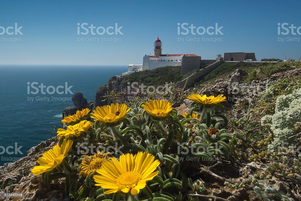 The southwestern point of Europe stock photo