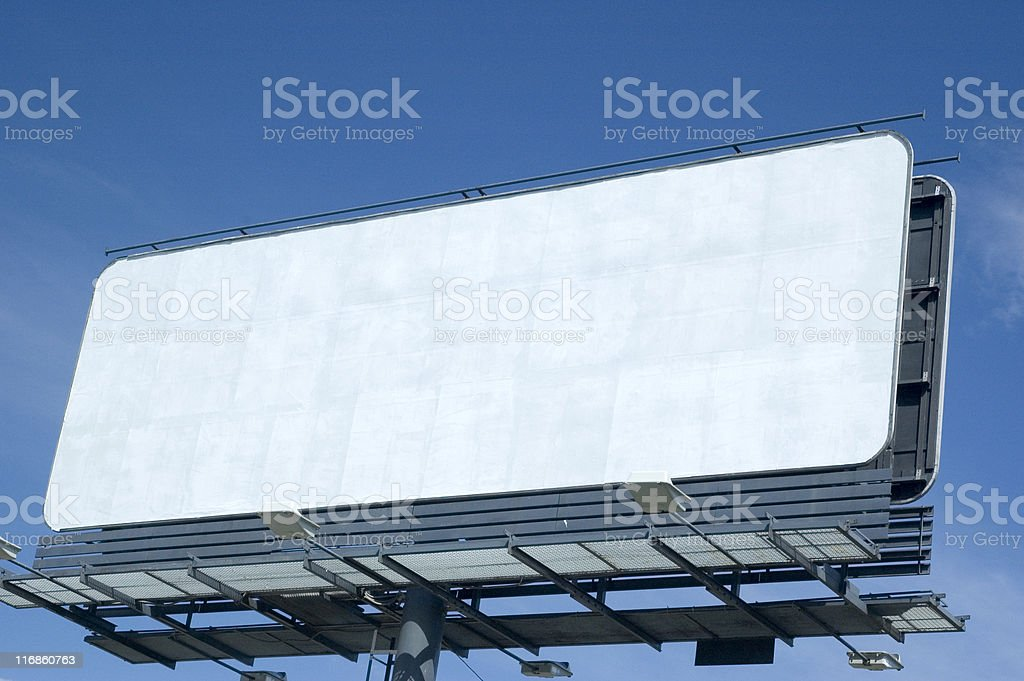 The space for your advertisement. stock photo