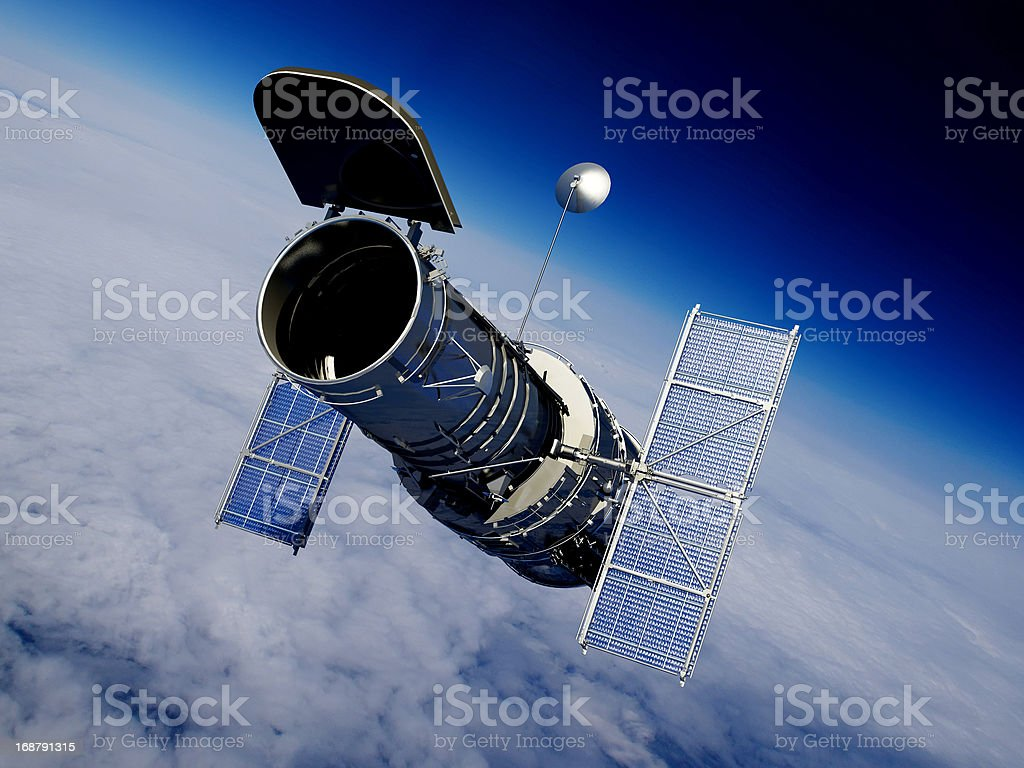 The space royalty-free stock photo