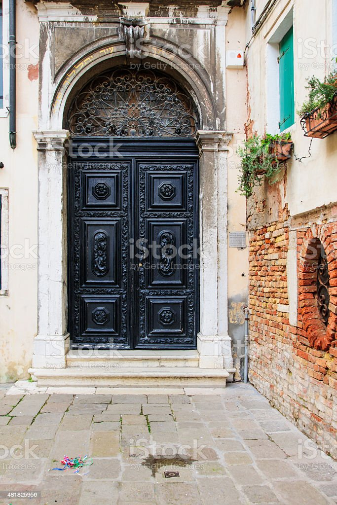 The Spanish Synagogue, Venice stock photo