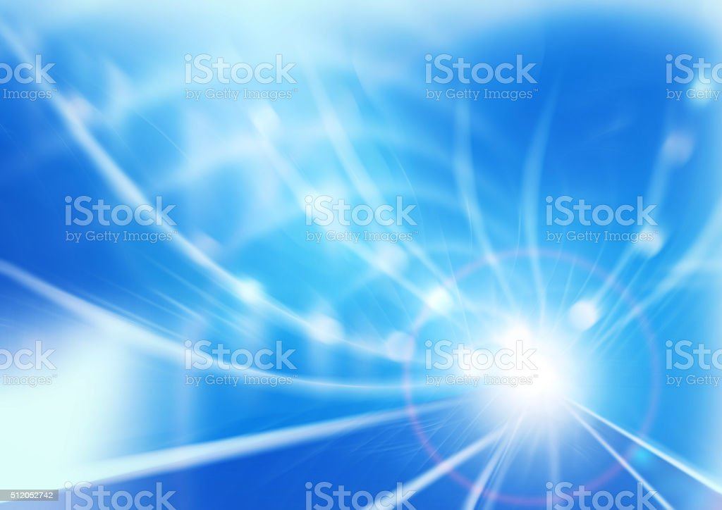 the speed of light stock photo